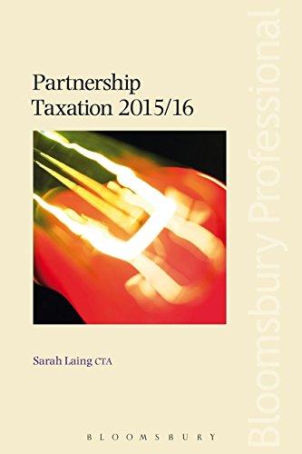 Partnership Taxation: Sarah Laing