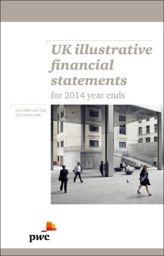 Uk Illustrative Financial Statements: IFRD and UK: PwC