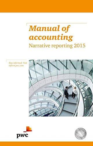Manual of Accounting Narrative Reporting 2015: PwC