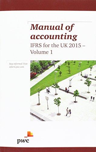Manual of Acounting Ifrs UK 2015 Vol1&2: PWC