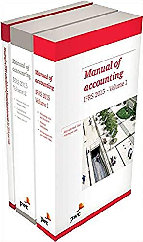 Manual of Accounting IFRS 2015 Pack (Paperback): PwC