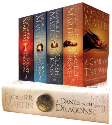 9781780484259: Song of Ice and Fire Set: A Game of Thrones, a Clash of Kings, a Storm of Swords, a Feast for Crows, a Dance with Dragons