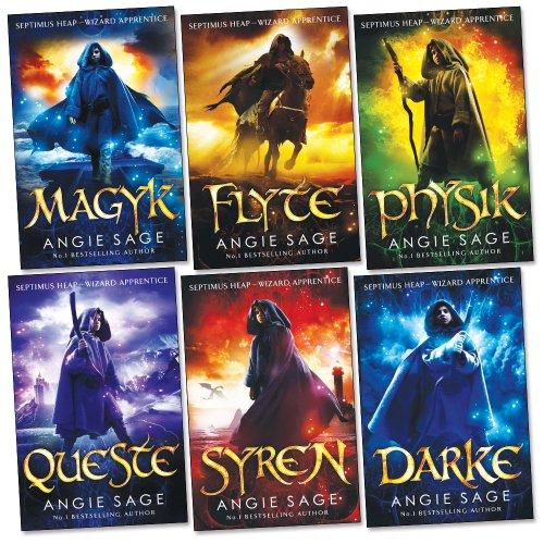 9781780486758: Septimus Heap Collection 6 Books Set Pack (Darke, Magyk, Flyte, Physik, Queste, Syren) (Wizard Apprentice Series Collection) (Septimus Heap, 1-6)