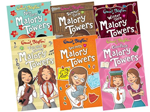 9781780486895: Malory Towers 6 books Collection Pack, 7-12 (Fun & Games At Malory Towers; Goodbye Malory Towers; New Term at Malory Towers; Secrets At Malory Towers; Summer Term At Malory Towers; Winter Term At Malory Towers)