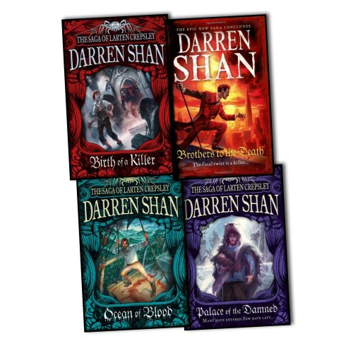 9781780486987: Darren Shan Series Collection: The Saga of Larten Crepsley 4 Books Set