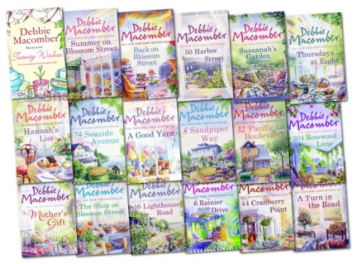 Debbie Macomber Collection 18 Books Collection Pack Set Cedar Cove, Blossom Street Series (Good Yarn, Twenty Wishes, Old Boyfriends, Thursdays at Eight, Hannah''s List, Falling for Christmas, 6 Rainier Drive, 50 Harbor Street, 44 Cranberry Point, 311... (1780487142) by Debbie Macomber