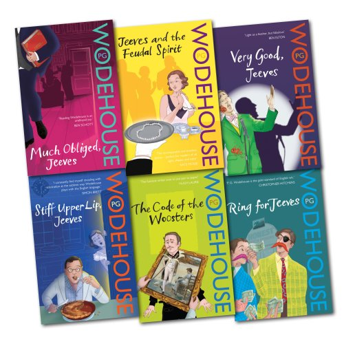9781780487281: A Jeeves and Wooster Series Collection PG Wodehouse 6 Books Set Pack Bundle NEW