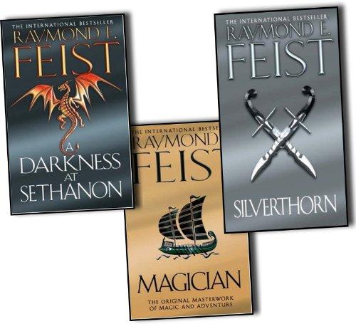 9781780487298: Raymond E. Feist Riftwar Saga 3 Books Collection Set Pack (Magician, A Darkness at Sethanon, Silverthorn) NEW