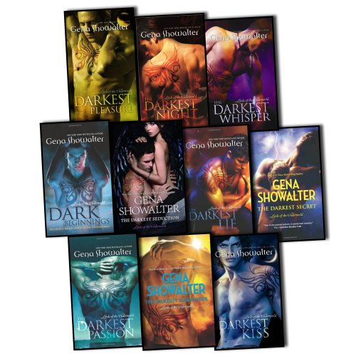 9781780487670: Gena Showalter Collection 7 Books Set Lords Of The Underworld Pack