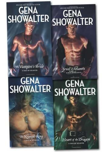 9781780487687: Gena Showalter Tales Of Atlantis Collection Set Pack