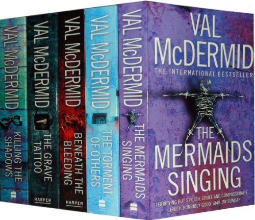 9781780487786: Val McDermid Crime & Mystery Series Novel Collection 8 Books Set (The Distant Echo, Dead Beat, Common Murder, The Mermaids Singing, The Wire in the Blood, The Last Temptation, The Grave Tattoo, Killing the Shadows) (Val Mcdermid Collection)