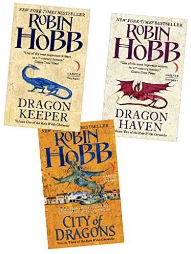9781780488165: Robin Hobb The Rain Wild Chronicles Trilogy Collection 3 Books Set Pack (Titles in This Set Book 1: The Dragon Keeper Book 2: Dragon Haven Book 3: City of Dragons (Hardback)