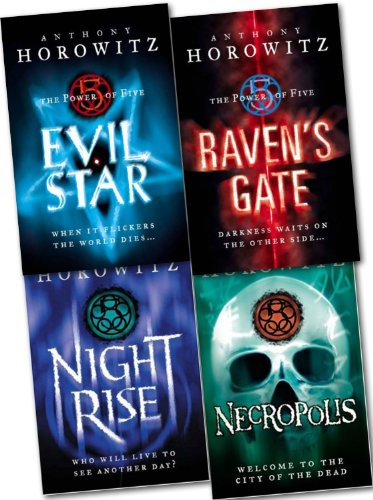 9781780489124: The Power of Five 4 Books Collection Set Anthony Horowitz (Raven's Gate, Evil Star, Night Rise, Necropolis) (Power of Five)