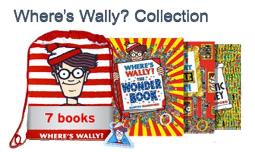9781780489926: Where's Wally Collection 7 Book Set in a Bag