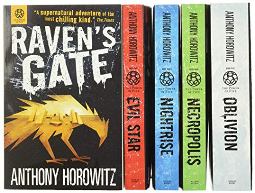 9781780489933: Power of Five Books Collection 5 Books Set by Anthony Horowitz Author of Alex Rider (Raven's Gate, Evil Star, Night Rise, Necropolis, Oblivion)