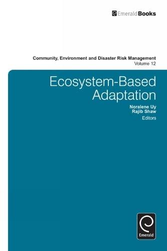 Ecosystem-Based Adaptation: 12 (Community, Environment and Disaster Risk Management): Noralene Uy