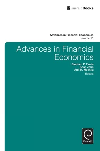 Advances in financial economics: Ferris, Stephen P.