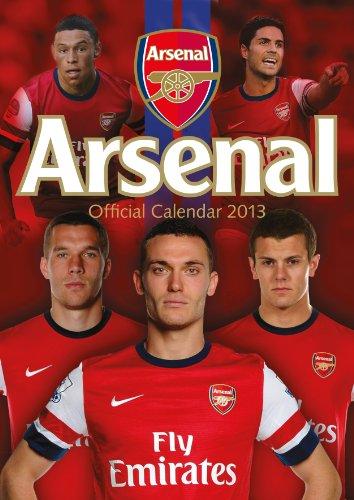 9781780541952: Official Arsenal FC 2013 Calendar