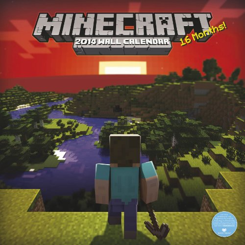 9781780543321: Official Minecraft 2014 Calendar