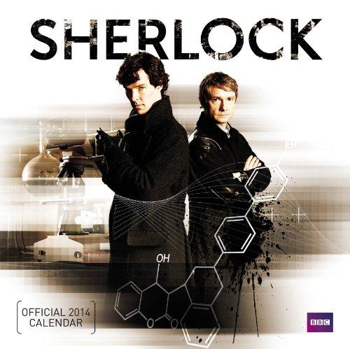 9781780543482: Official Sherlock 2014 Calendar