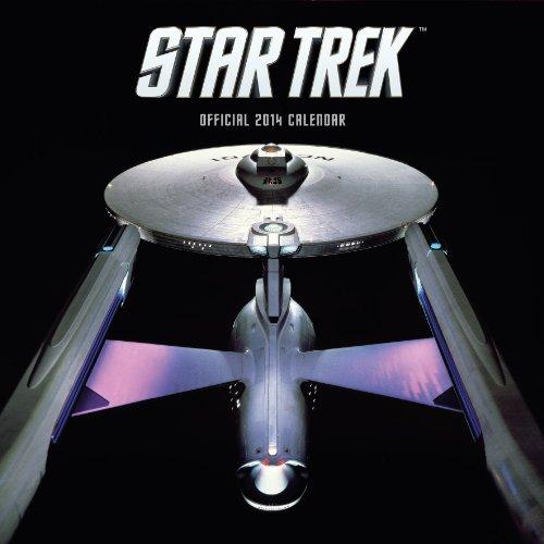 9781780543536: Official Star Trek Ships 2014 Calendar