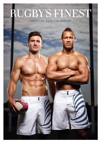 9781780543901: Official Rugby's Finest Hunks 2014 Calendar