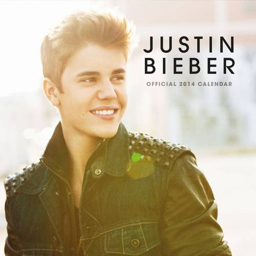 9781780544595: Official Justin Bieber Square 2014 Calendar (Calendars 2014)