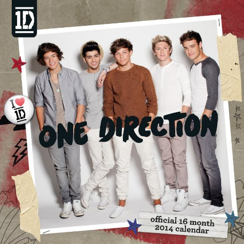 9781780544656: Official One Direction Square 2014 Calendar (16 Month)