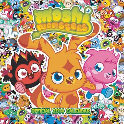 9781780544878: Official Moshi Monsters 2014 Mini Calendar