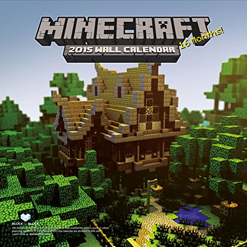 9781780545998: Official Minecraft 2015 Square