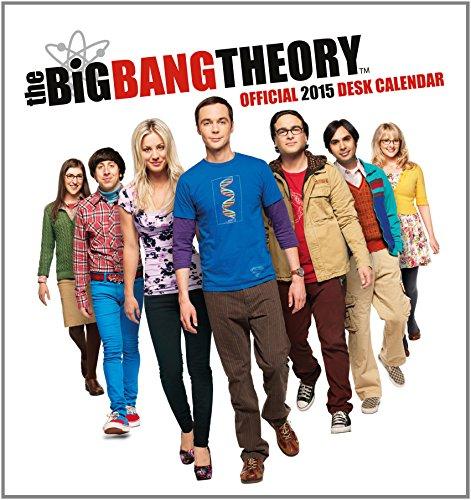 9781780547077: Official Big Bang Theory 2015 Desk Easel Calendar