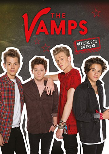 9781780548029: The Official the Vamps 2016 A3 Calendar