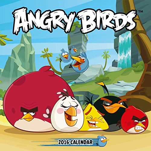 9781780548135: Official Angry Birds 2016 Square Wall Calendar