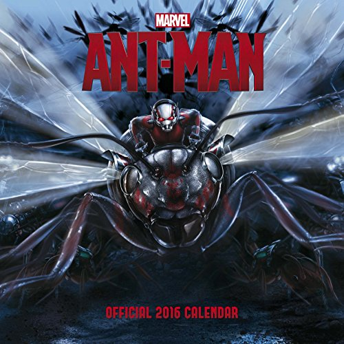 9781780548142: The Official Ant-Man 2016 Square Calendar