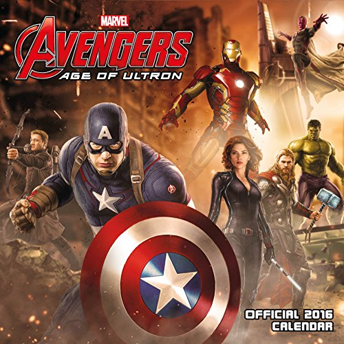 9781780548166: The Official Avengers: Age of Ultron 2016 Square Calendar