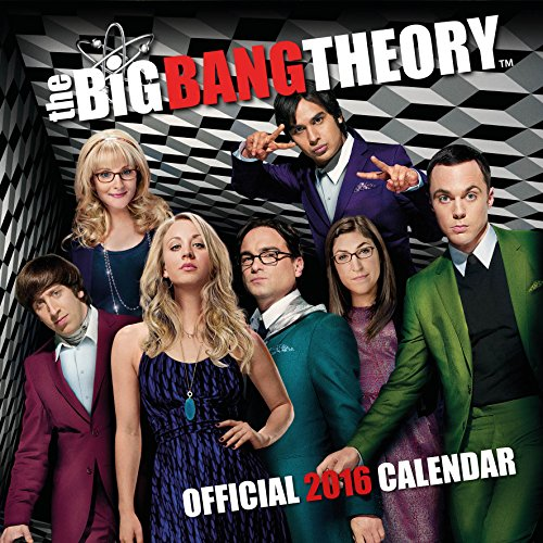 9781780548180: The Official Big Bang Theory 2016 Square Calendar
