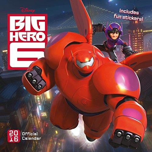 9781780548197: The Official Big Hero Six 2016 Square Calendar