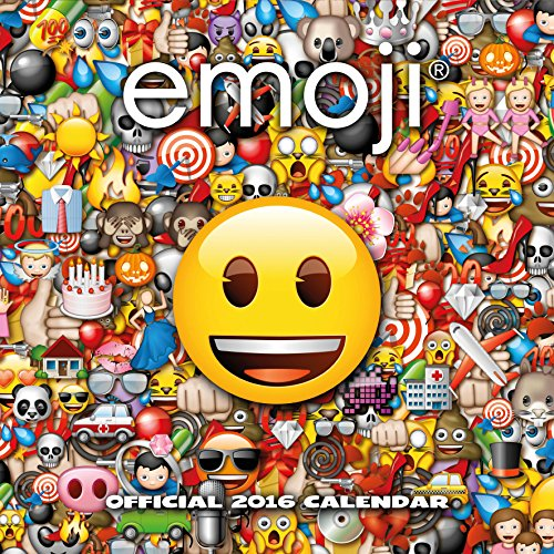 9781780548548: Official Emojis 2016 Square Wall Calendar (Ideograms Smileys)