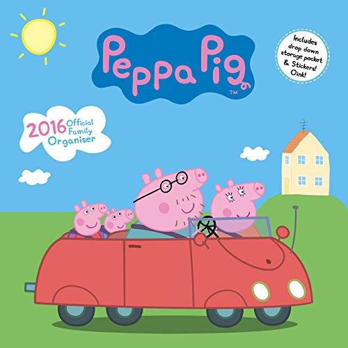9781780548579: The Official Peppa Pig - Organiser 2016 Square Calendar