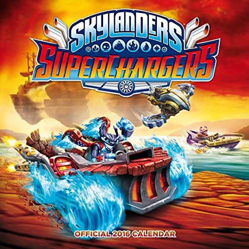 9781780548616: The Official Skylanders 2016 Square Calendar