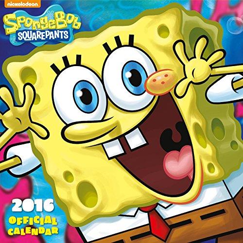 9781780548623: Official Sponge Bob 2016 Square Wall Calendar (Nickelodeon Calendar)