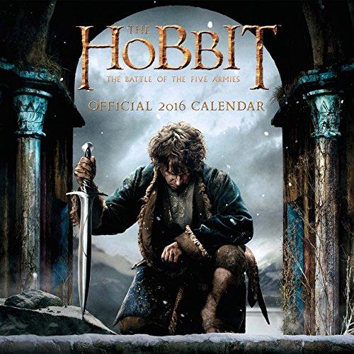 The Official the Hobbit 2016 Square Calendar