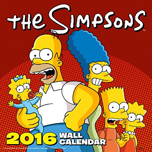9781780548722: Official The Simpsons 2016 Square Wall Calendar