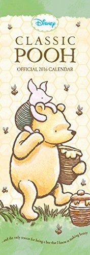 9781780549040: The Official Winnie the Pooh (Classic) 2016 Slim Calendar