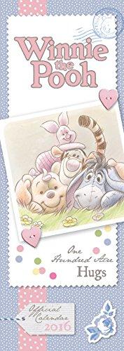9781780549057: The Official Winnie the Pooh (Sketch) 2016 Slim Calendar
