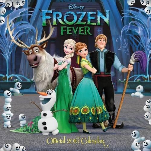 9781780549071: The Official Disney Frozen Fever 2016 Square Calendar