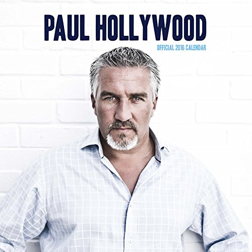 9781780549170: Official Paul Hollywood 2016 Square Calendar (Great British Bake Off Star)