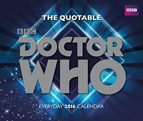 9781780549217: The Official Doctor Who 2016 Desk Block Calendar