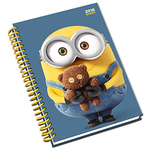 9781780549378: The Official Minion Movie (A5) 2016 Diary
