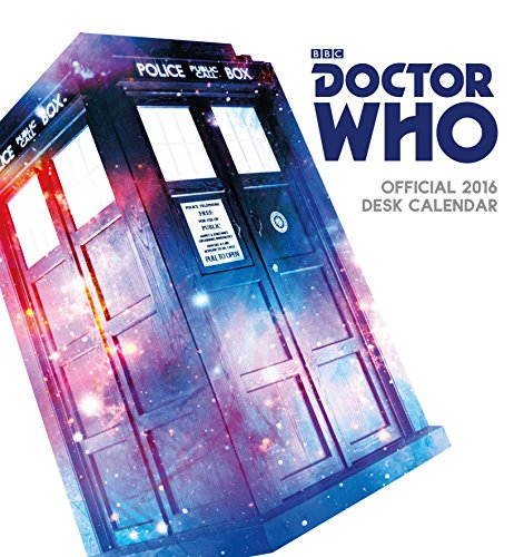 9781780549477: The Official Doctor Who 2016 Desk Easel Calendar (Calendar 2016)